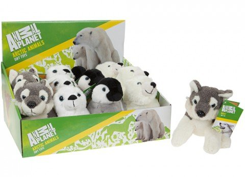 Crufts Pet Toys Accessories Animal Planet Soft Toys